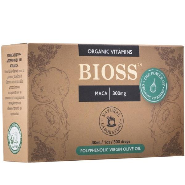 Maca 300mg, 30ml, Bio, Bioss Organic Vitamins