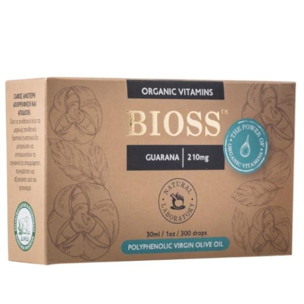 Guarana 210mg, Bio, Bioss Organic Vitamins