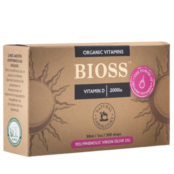 Vitamin D 2000IU, Bio, Bioss Organic Vitamins