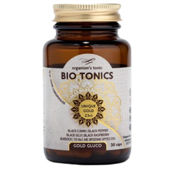 Gold Gluco, 30 κάψουλες, Bio, Bio Tonics