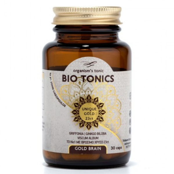 Gold Brain, 30 κάψουλες, Bio, Bio Tonics