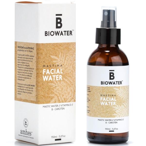 Facial Water με Μαστίχα, Βιταμίνη D & B-Carotene, 150ml, Biowater