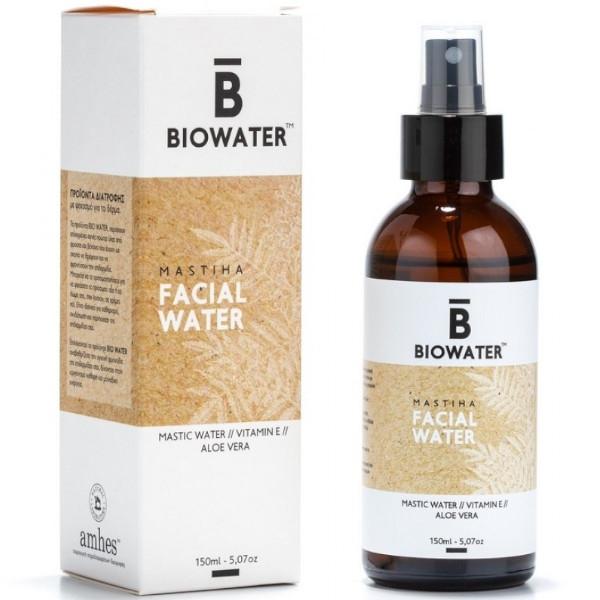 Facial Water με Μαστίχα, Βιταμίνη Ε & Αλόη, 150ml, Biowater