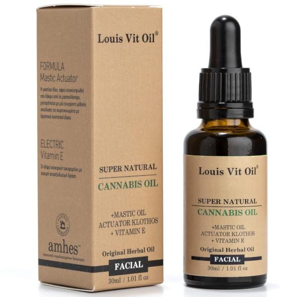 Cannabis Facial Oil, 30ml, Louis Vit Oil