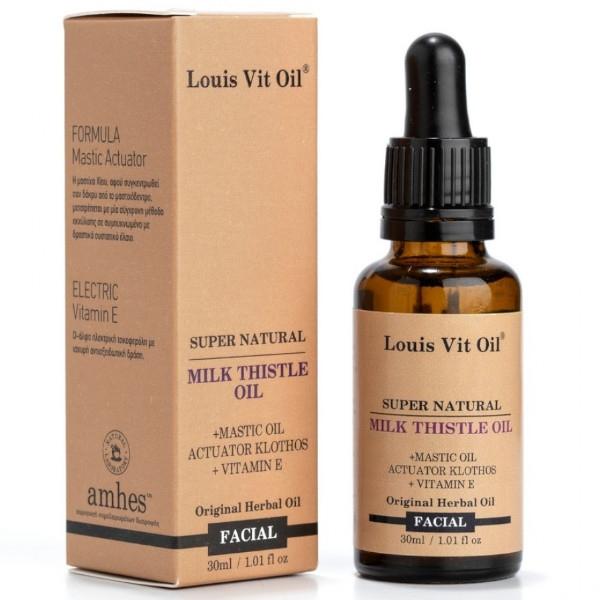 Milk Thistle Facial Oil, 30ml, Louis Vit Oil