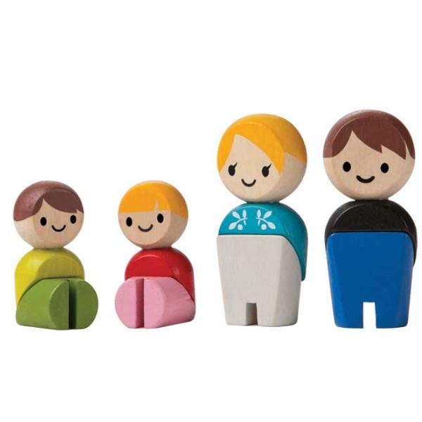 Οικογένεια II, Plantoys, Ξύλινο, Οικολογικό, Εκπαιδευτικό, Παιχνίδι