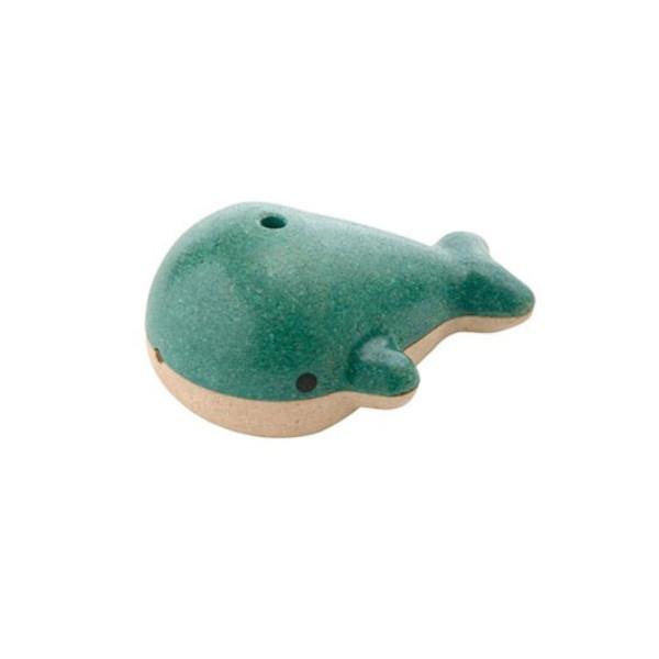 Σφυρίχτρα Φάλαινα, Plantoys, Ξύλινο, Οικολογικό, Εκπαιδευτικό, Παιχνίδι