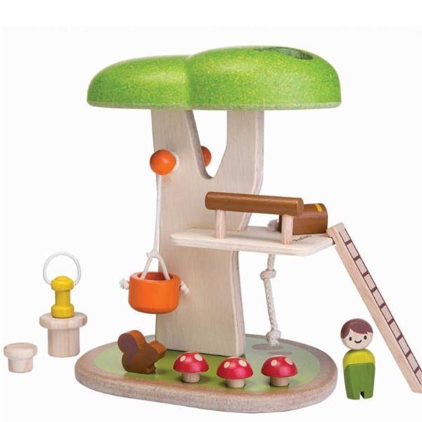 Δεντρόσπιτο, Plantoys, Ξύλινο, Οικολογικό, Εκπαιδευτικό, Παιχνίδι