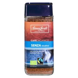Βιολογικός Στιγμιαίος Καφές Decafeine Senza, 100 γρ., Bio, Simon Levelt