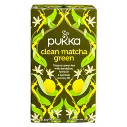Βιολογικό Πράσινο Τσάι Clean Matcha, 20 φακελάκια, Bio, Pukka