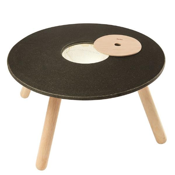 Στρογγυλό Τραπέζι, Plantoys, Ξύλινο, Οικολογικό, Εκπαιδευτικό, Παιχνίδι