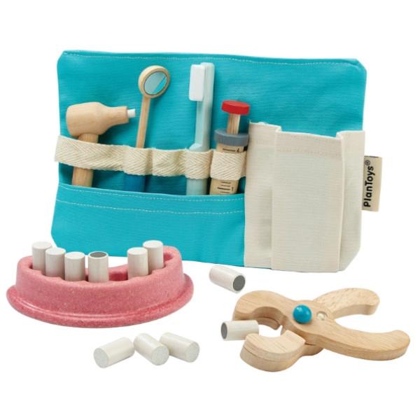 Οδοντιατρικά Εργαλεία, Plantoys, Ξύλινο, Οικολογικό, Εκπαιδευτικό, Παιχνίδι