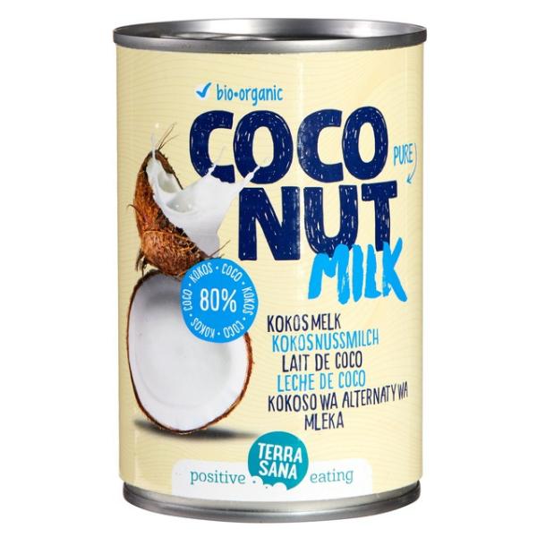 Βιολογικό Γάλα Καρύδας, 400 ml, Bio, Terrasana