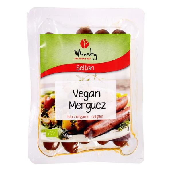 Βιολογικό Φυτικό Λουκάνικο Merguez, 200 γρ., Bio, Wheaty