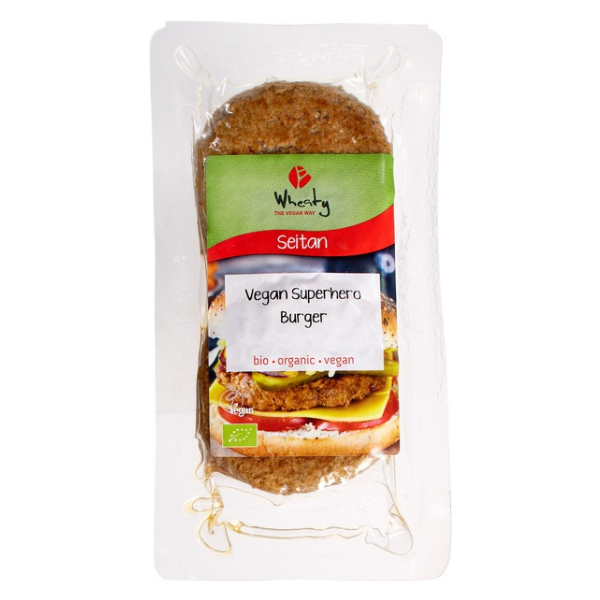 Βιολογικό Φυτικό Μπιφτέκι Burger, 200 γρ., Bio, Wheaty