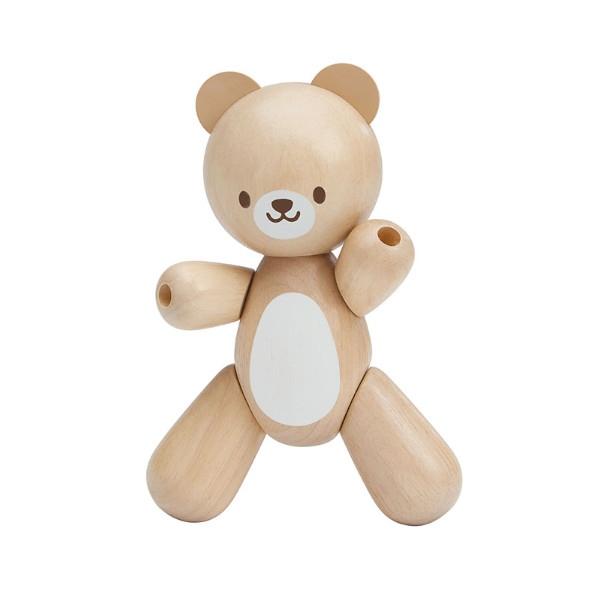 Αρκουδάκι, Plantoys, Ξύλινο, Οικολογικό, Εκπαιδευτικό, Παιχνίδι