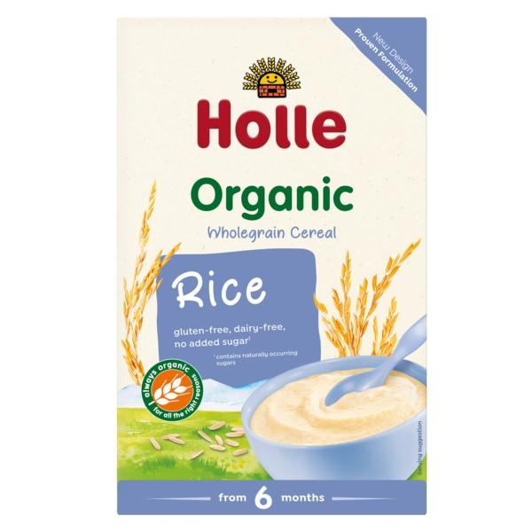 Βιολογική Παιδική Κρέμα Ρυζιού 250γρ. Bio, Holle