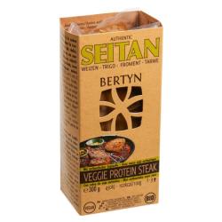 Βιολογική Μπριζόλα Πρωτεΐνης Seitan, 2 τεμάχια, 300 γρ., Bio, Bertyn