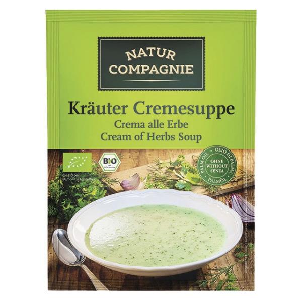 Βιολογική Σούπα Στιγμής με Φιδέ & Λαχανικά, 37 γρ., Bio, Natur Compagnie