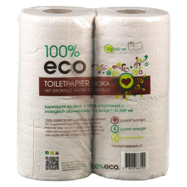 Οικολογικό Χαρτί Υγείας, 4 ρολά, Eco,