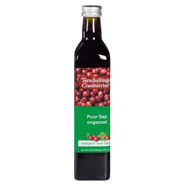 Βιολογικός Χυμός 100% Κρανμπερι, 500 ml, Βio, Terschellinger Cranberries
