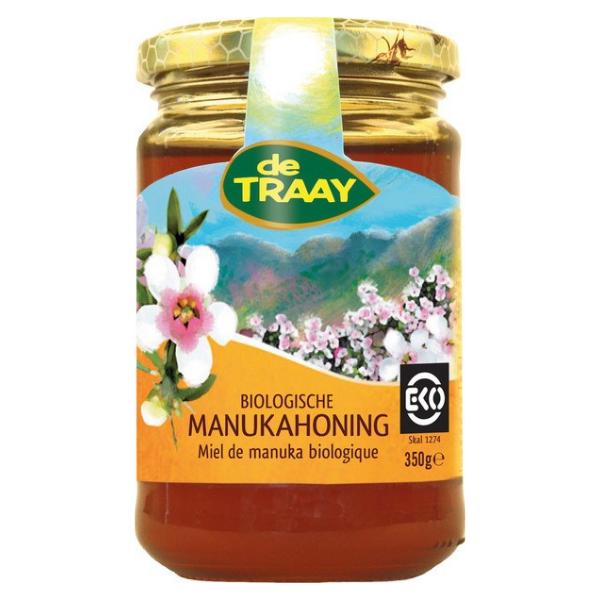 Βιολογικό Μέλι Μανούκα Κανούκα, 350 γρ., Bio, De Traay