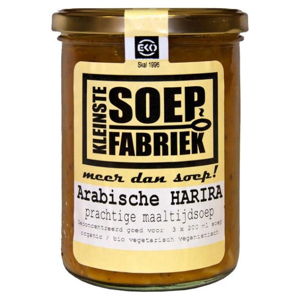 Βιολογική Σούπα Αράβικη Harira, 400 ml, Bio, SMALLEST SOUP FACTORY