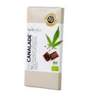 Βιολογική Σοκολάτα Γαλάκτος με Σπόρους Κάνναβης, 100 γρ., Bio, HANF NATUR