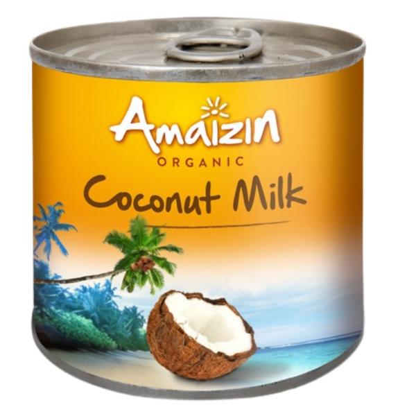 Βιολογικό Γάλα Καρύδας, 200ml Bio, Amaizin