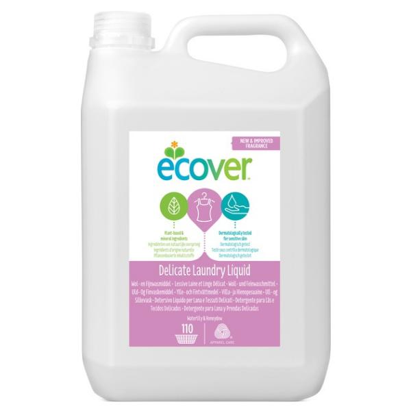 Υγρό Πλυντηρίου Ρούχων για Μάλλινα & Ευαίσθητα, 5 λίτρα, Ecover