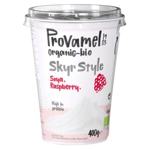 Βιολογικό Φυτικό Επιδόρπιο Σόγιας Raspberry, 400 γρ., Bio, Provamel