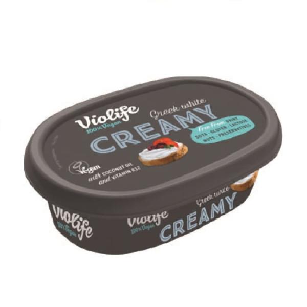 Φυτικό Αλειφόμενο Λευκό Τυρί 150γρ, Vegan, Violife
