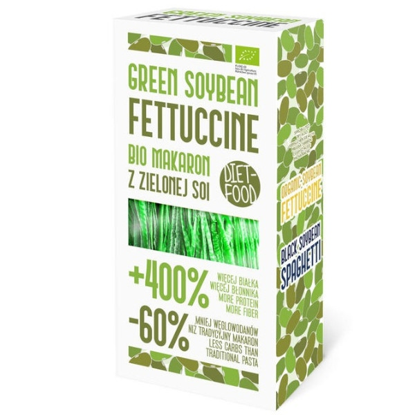 Frettucine Από Πράσσινη Σόγια 200γρ, Vegan, Bio, Diet Foods