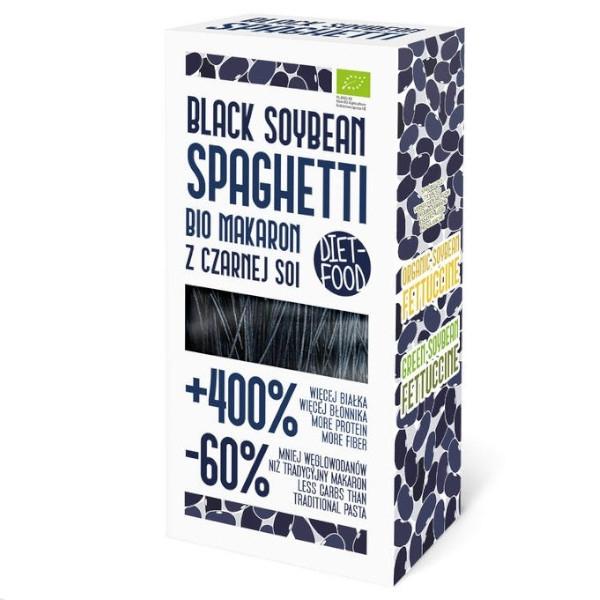 Σπαγγέτι Από Μαύρη Σόγια 200γρ, Vegan, Bio, Diet Food