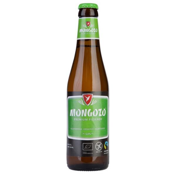Βιολογική Μπύρα Pilsner Χωρίς Γλουτένη, 330 ml, Mongozo
