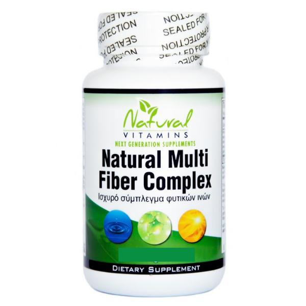 Natural Fiber Complex- Φυτικές Ίνες, 90 Κάψουλες, Natural Vitamins