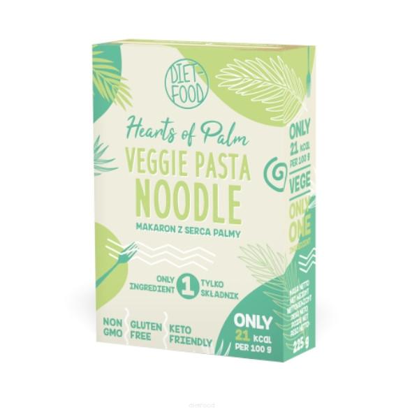 Vegie Pasta Hearts Of Palm Noodles 225γρ, Κέτο, Vegan, Diet Food