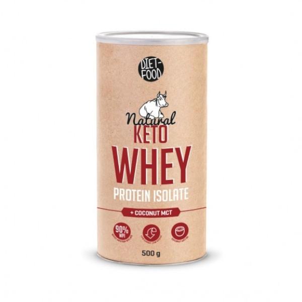 Πρωτεΐνη Ορού Γάλακτος με Καρύδα 500γρ, Κέτο, Bio, Diet Food