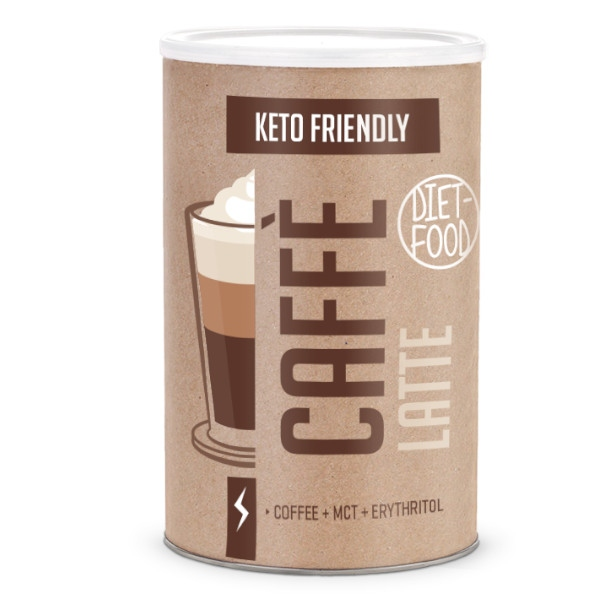 CAFFE LATTE KETO BIO 300ΓΡ DIET FOOD