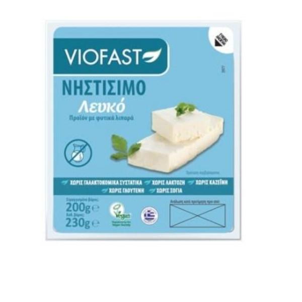 Χορτοφαγικό Λεύκο Τυρί 200γρ, Vegan, Viofast