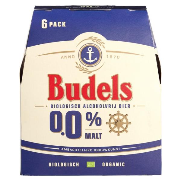 ΜΠΥΡΑ Χ.ΑΛΚΟΟΛ BUDELS 0% BIO 6χ330ML