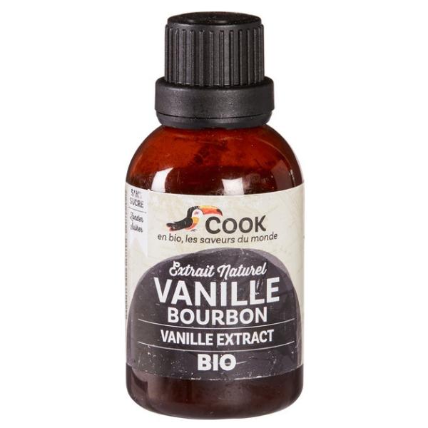 Βιολογικό Εκχύλισμα Βανίλιας Burbon, 40 ml, Bio, COOK