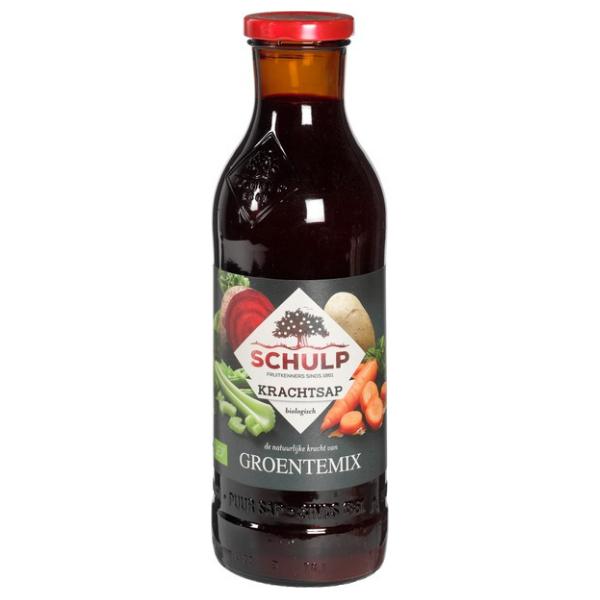 Βιολογικός Χυμός Λαχανικών Mix Power, 750 ml, Bio, Schulp
