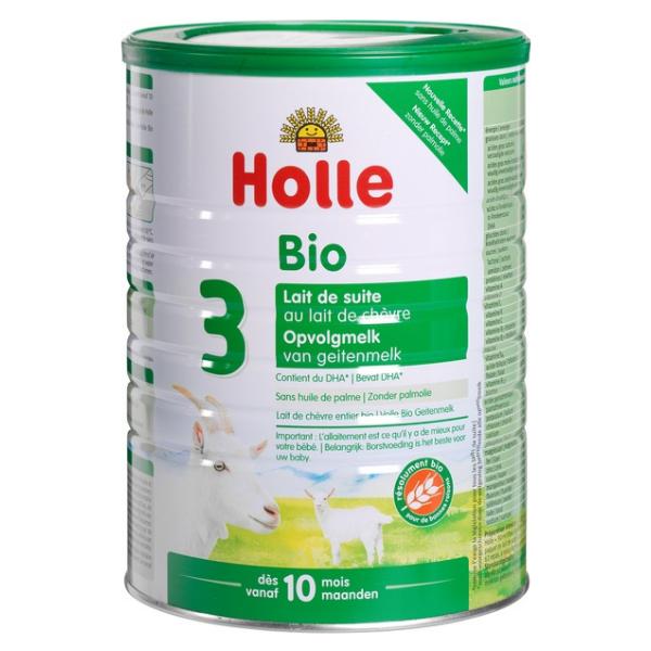 Βιολογικό Κατσικίσιο Γάλα σε Σκόνη No 3, 800 γρ., Bio, Holle