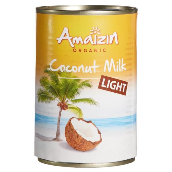 Βιολογικό Γάλα Καρύδας Light, 400ml Bio, Amaizin