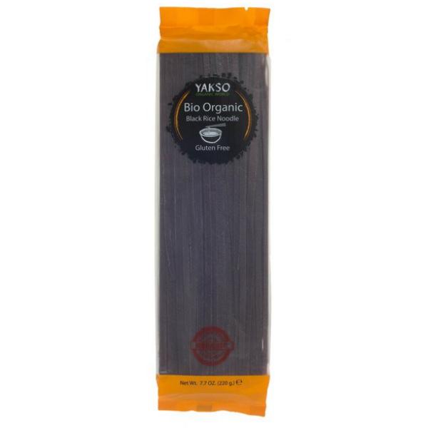 Βιολογικά Noodles Μαύρου Ρυζιού, 220 γρ., Bio, YAKSO