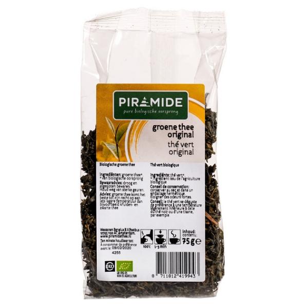 Βιολογικό Πράσινο Τσάι Βιετνάμ, 75 γρ., Bio, Piramide