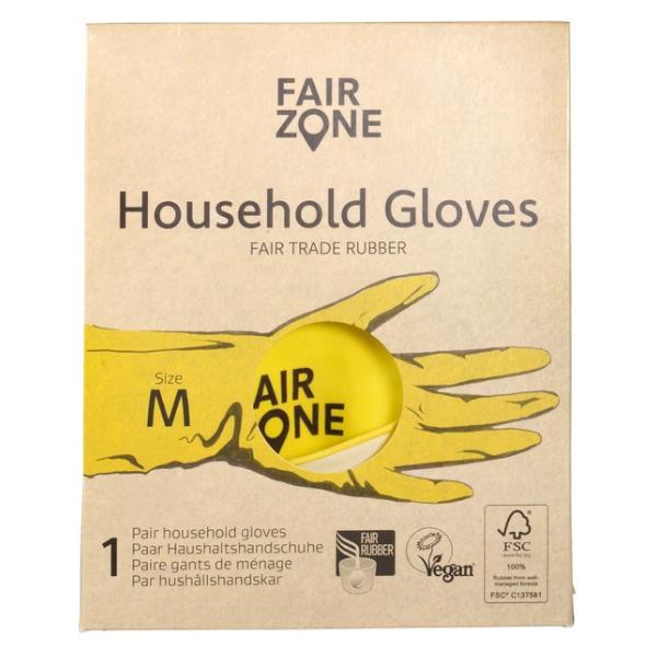 Γάντια από Φυσικό Λάτεξ, No M, Fair Zone