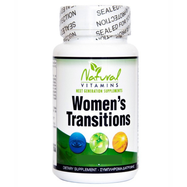Women' s Transitions, 60 κάψουλες, Natural Vitamins