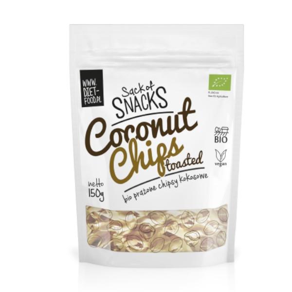 Βιολογικά Τσίπς Καρύδας 150γρ, Vegan, Diet Food